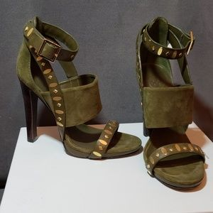 Tory Burch high heels with gold studs